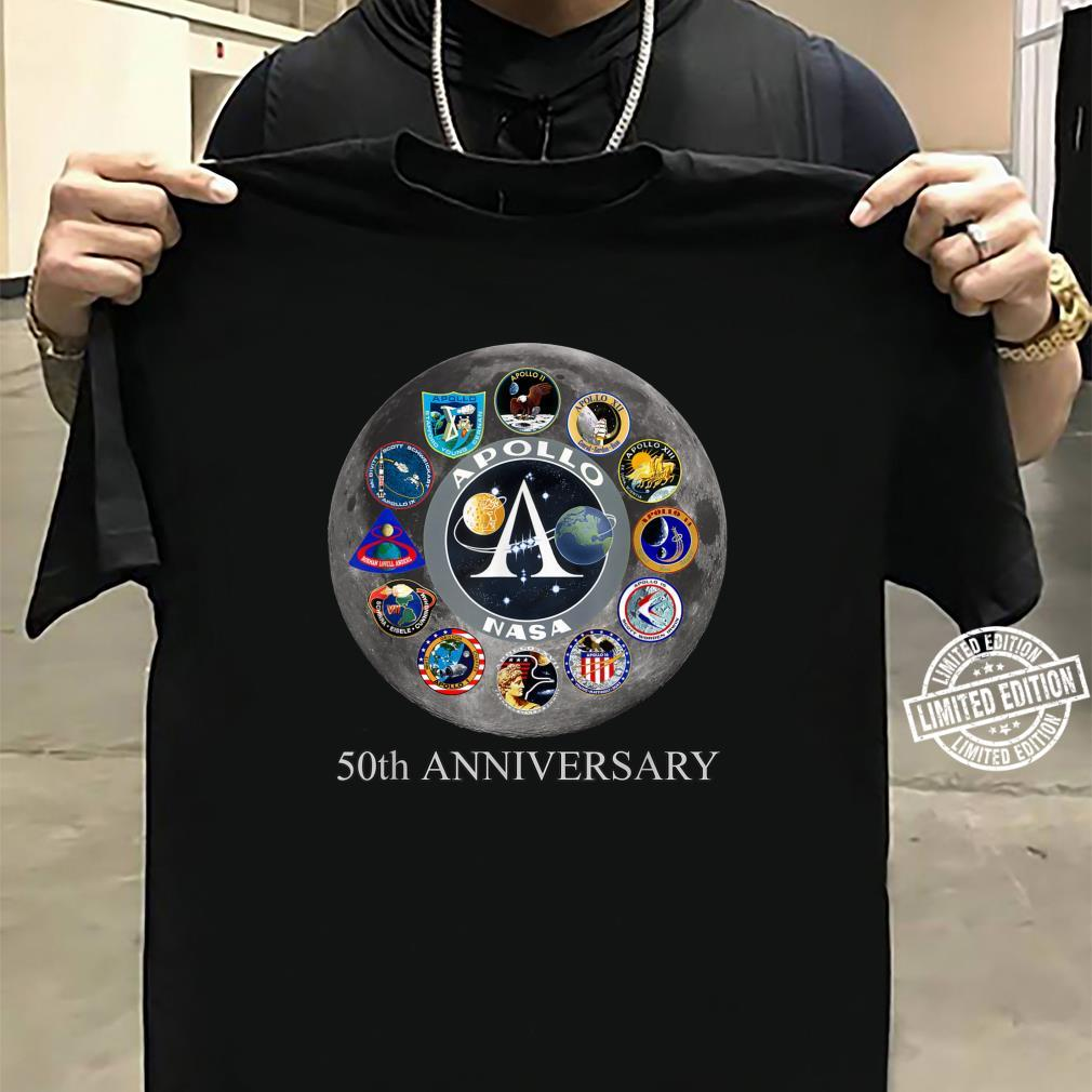 All Apollo Mission Badges Pacht 50th Moon Landing Idea Shirt sweater