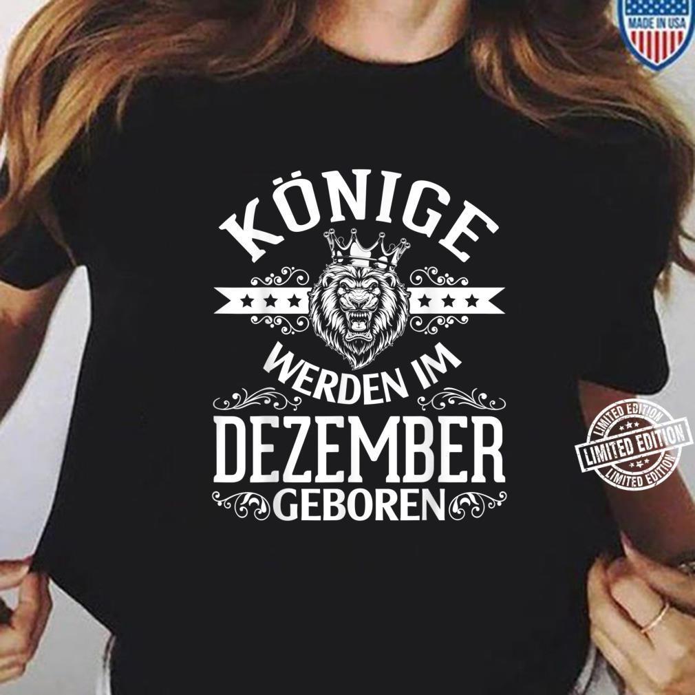 Alles Gute zum Geburtstag Könige werden im Dezember geboren Shirt ladies tee