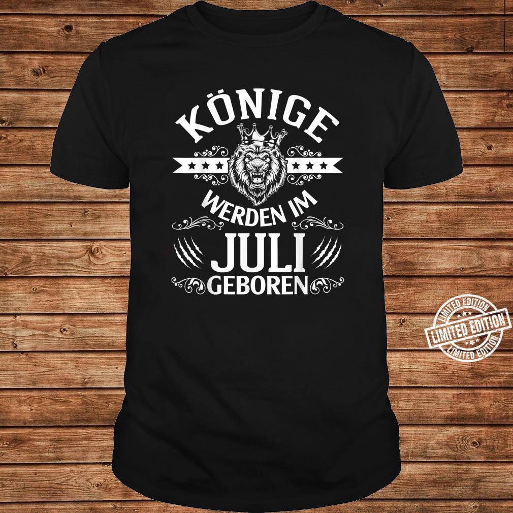 Alles Gute zum Geburtstag Könige werden im Juli geboren Shirt long sleeved