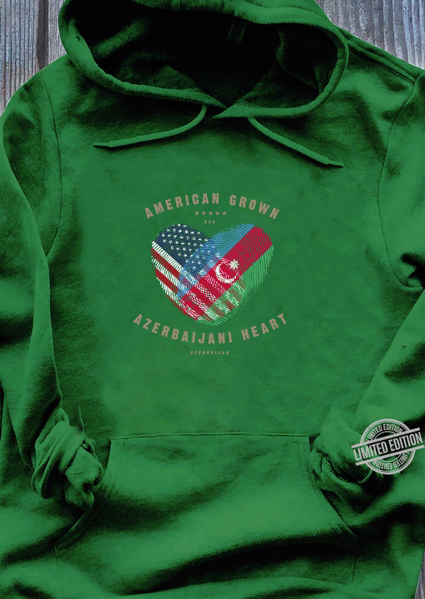 Azerbaijani Heartbeat I Love Aserbaidschan Flagge Geschenk Sweatshirt