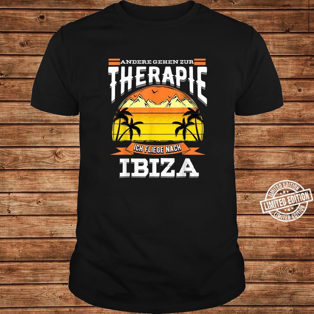 Andere gehen zur Therapie ich fliege nach Ibiza Design Shirt long sleeved