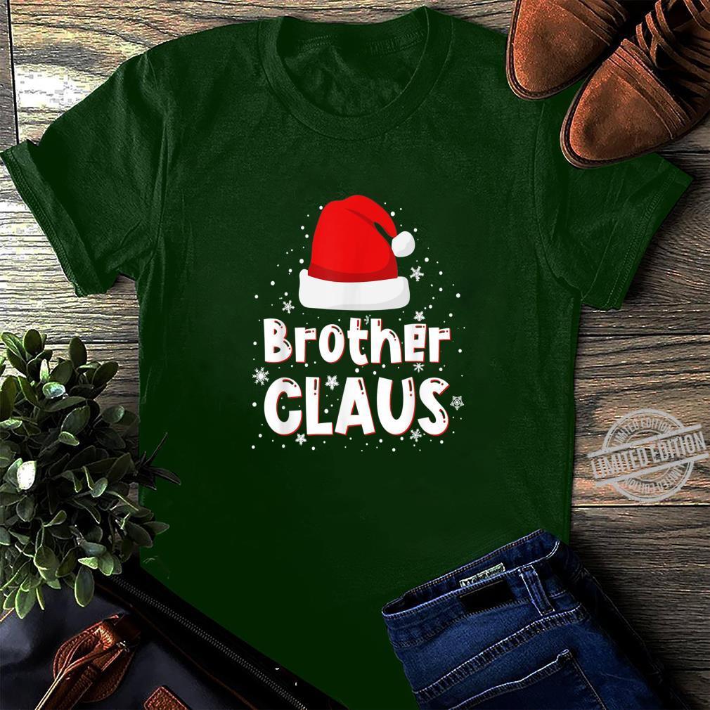 Brother Claus Christmas Family Matching Pajama Shirt long sleeved