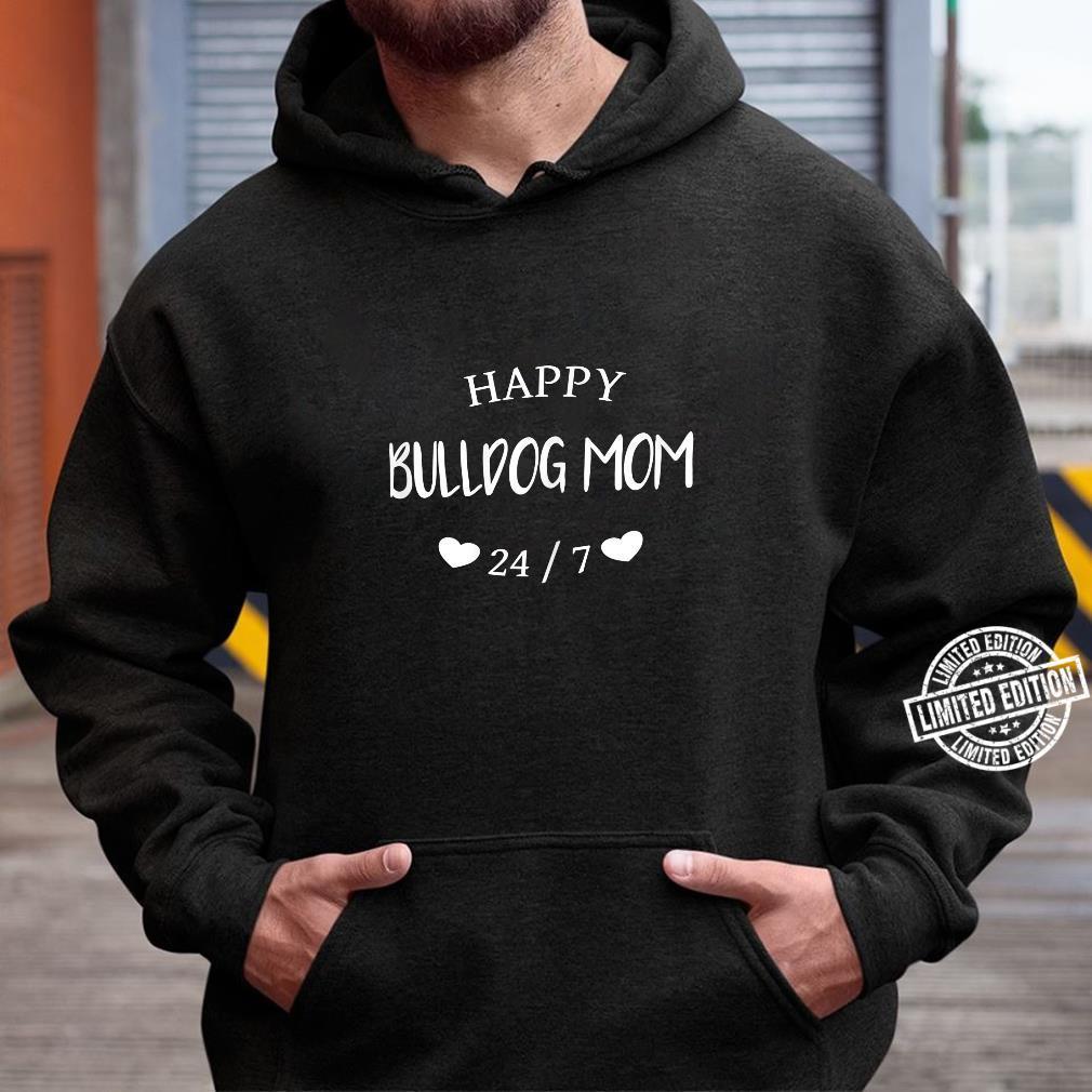 Damen Glückliche Bulldoggen Mama I Bulldog Mom, Shirt hoodie