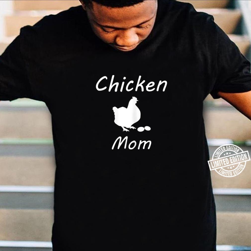 Damen Hühner Mutter Bauer Landwirt Geschenk Lustig Muttertag Shirt