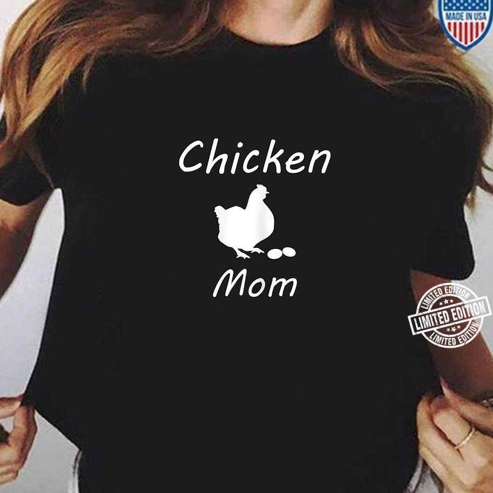 Damen Hühner Mutter Bauer Landwirt Geschenk Lustig Muttertag Shirt ladies tee