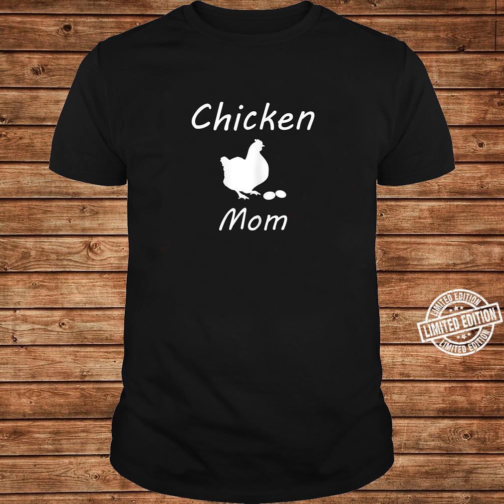 Damen Hühner Mutter Bauer Landwirt Geschenk Lustig Muttertag Shirt long sleeved