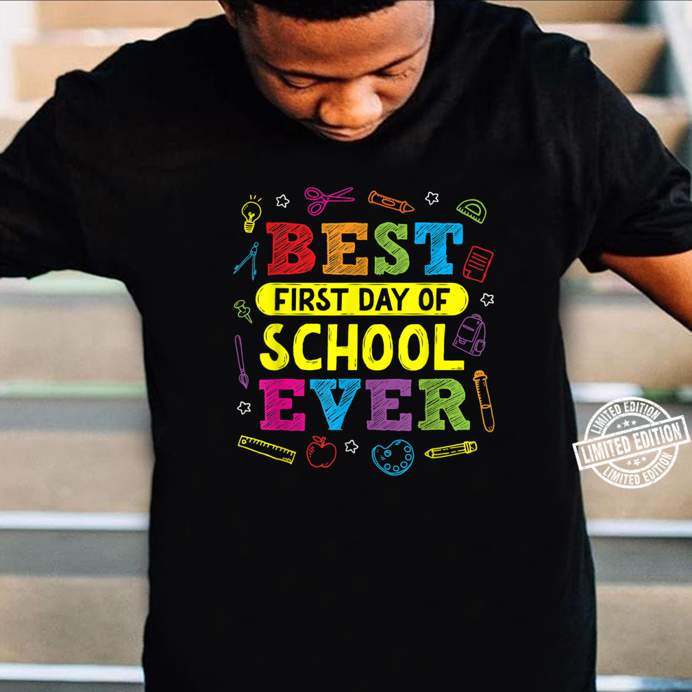 First Day of School Back to School Outfit Kid Teacher Shirt