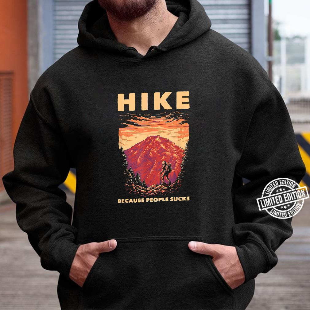 Funny Hiker Forest Nature Environment Hiking Hiking Shirt hoodie