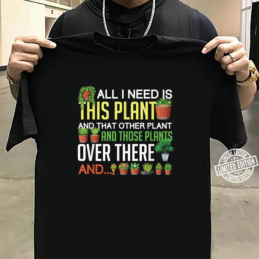 Funny Plants Houseplant Garden Gardener Flower Shirt sweater