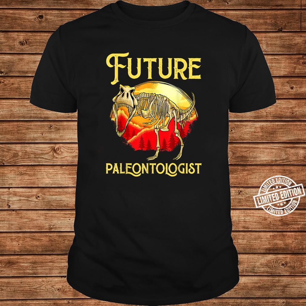 Future Paleontologist Dinosaur Obsessed Dino Fossil Shirt long sleeved