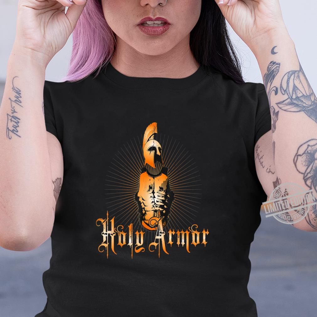 Holy Armor of God Christian Shirt