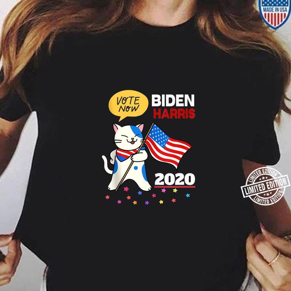 Joe Biden Kamala Harris VOTE 2020 Cat Election Shirt long sleeved