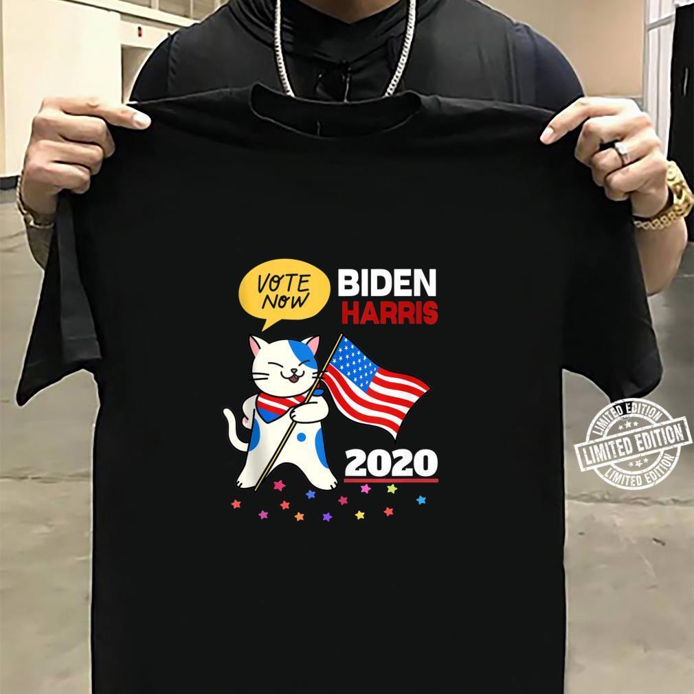 Joe Biden Kamala Harris VOTE 2020 Cat Election Shirt sweater