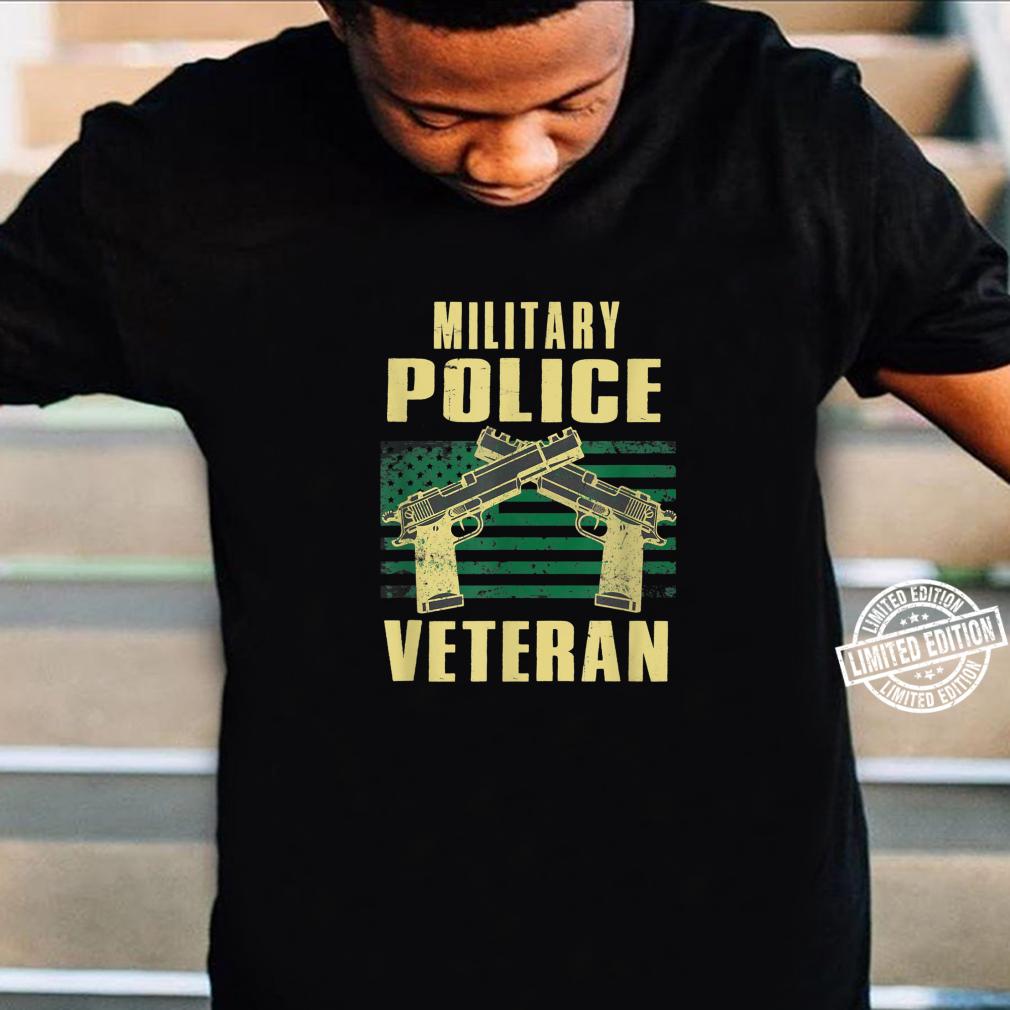 Military Police Veteran America Patriot Cop Military Veteran Shirt