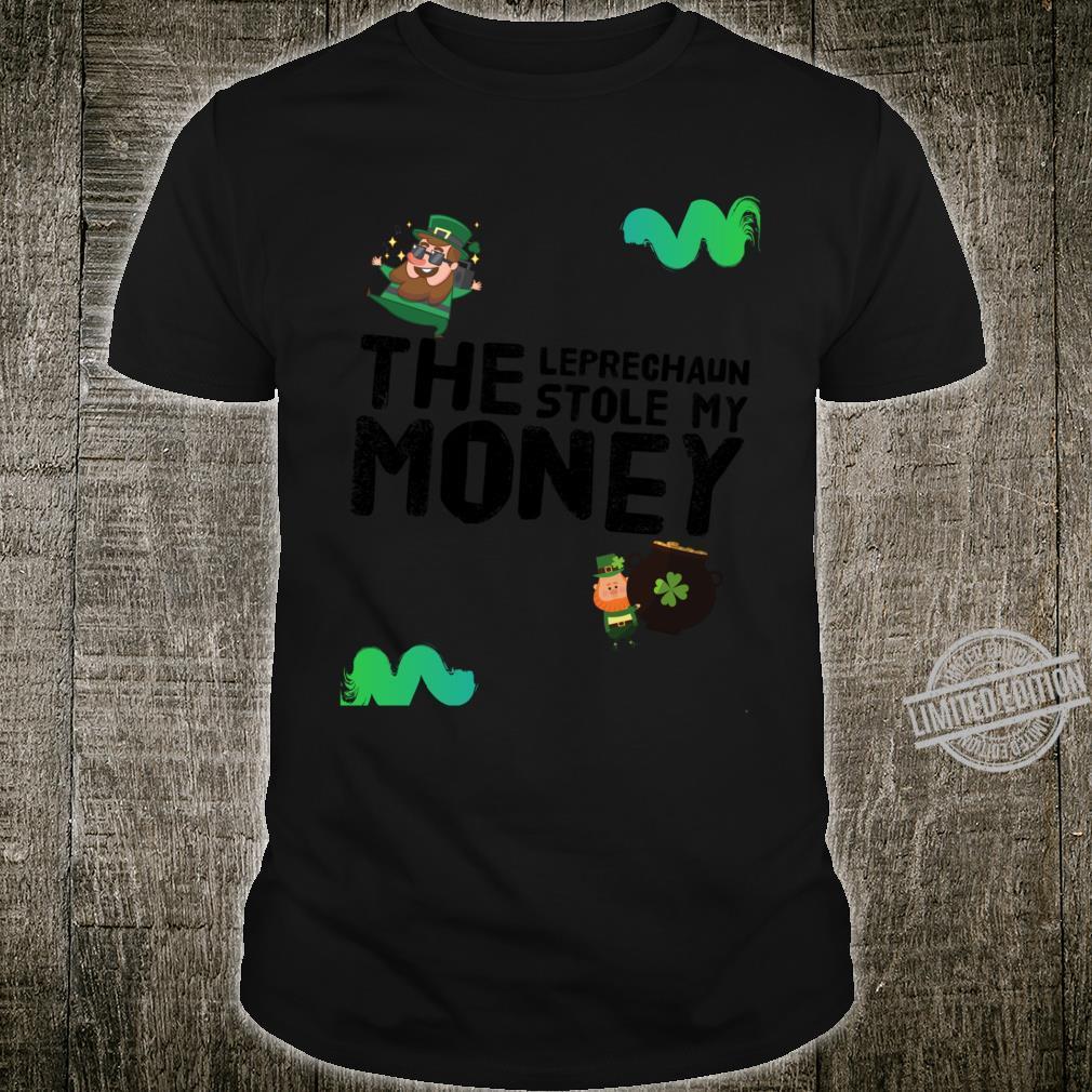 The Leprechaun Stole My Money Racerback Shirt